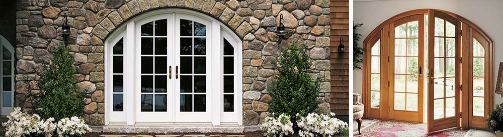 beauty archTopFrenchDoors
