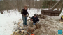 Learn To Split Logs for Firewood
